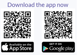 QR codes for app